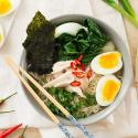 Ramen with Boiled Eggs