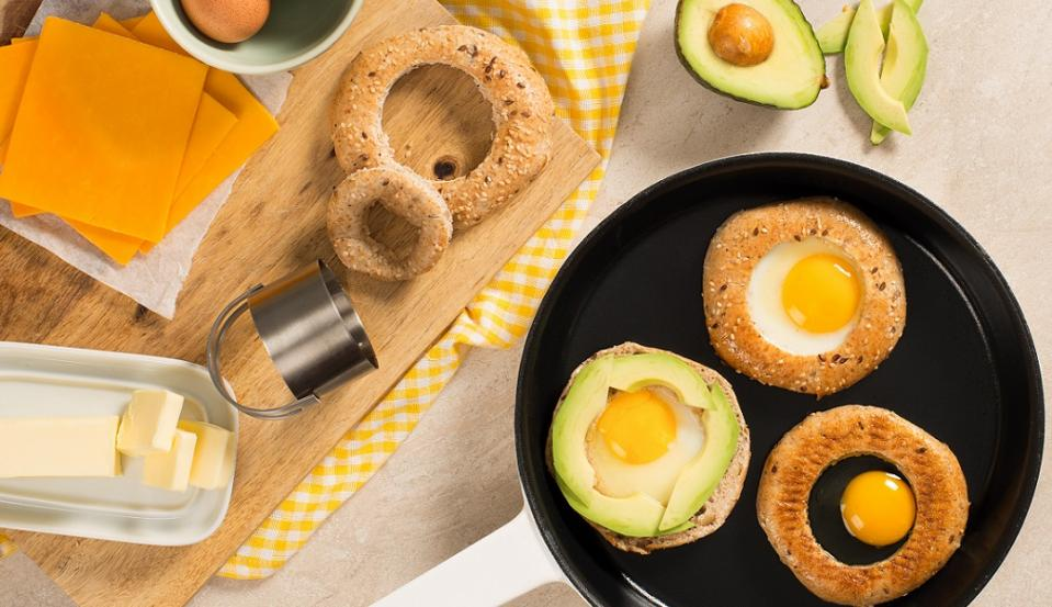 Avocado Egg in a Hole Step 2 CMS
